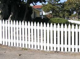 white fence panels. Picket Fence Panels Style White Uk