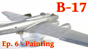 Model Flying Fortress B 17g 1 72 Airfix Painting