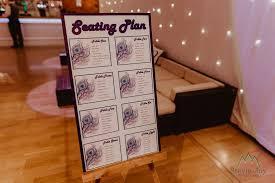Peacock Seating Plan Wedding Ideas Industrial Barn Wedding
