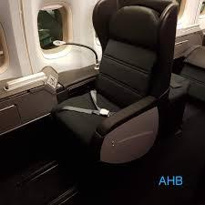 Zone A First Cabin On Qantas 747 Vh Oeb Gets A Refresh
