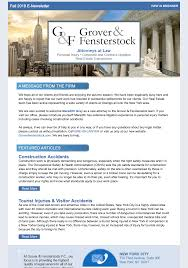News Letters Attorney E Newsletters Content Creation Services New York