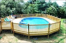 above ground pool with deck attached to house. Round Above Ground Pool Deck Plans Full Size Of Free With Attached To House