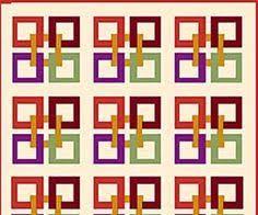 Try Bonnie Scotsman if You're Looking for a Quick and Easy Quilt ... & Celtic Squares Block Adamdwight.com