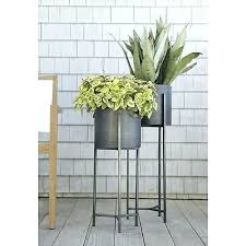 tall plant stand modern stands indoor remarkable in planters gardening reviews crate home design dark wood tall plant stand