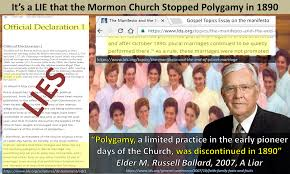 mormon infographics it s a lie that the mormon church stopped  it s a lie that the mormon church stopped polygamy in 1890