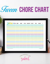Household Chores For Tweens To Earn Money