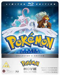 Amazon.com: Pokemon Movie 1-3 Collection - Limited Edition Blu-ray ...