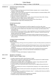 Python Developer Resume Python Developer Resume Samples Velvet Jobs 1