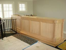 Build basement bar free plans