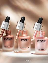 2018 brand new iconic london illuminator liquid highlighters 3 shades original shine glow illuminating highlighting contour makeup free dhl makeup