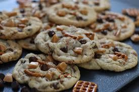 Kitchen Sink Cookies Brown Butter Toffee Caramel Pretzel