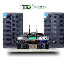 Dàn karaoke chính hãng - Bộ âm thanh chất lượng giá rẻ - Mã TD 02