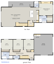Floor Plans For A 4 Bedroom House Best Of Small 2 Story House Plans Canada  Home Deco Two Kerala Wonderful