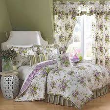 37 best Bedrooms & Bedding images on Pinterest | Bed sets, 3/4 ... & Sweet Violets Floral Reversible Quilt Set and Accessories by Waverly Adamdwight.com