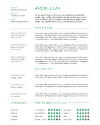 How To Create A Resume How To Create A Simple Resume Using InDesign Annenberg Digital 30