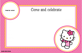 online free birthday invitations hello kitty birthday invitations online free futureclim info