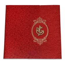 Hindu Wedding Cards Design With Price Red Color Wedding Card Designer Indian Wedding Card Iwm 1023
