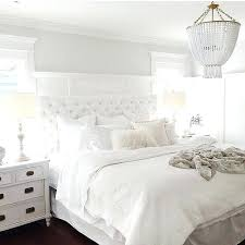 Beautiful All White Bedroom Ideas Luxurious Bed With Upholstered ...