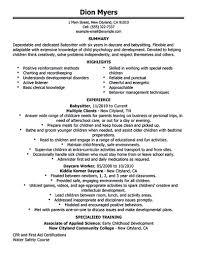 babysitter resume sample best business template babysitter resume objective great nanny resume example babysitter inside babysitter resume sample 3482