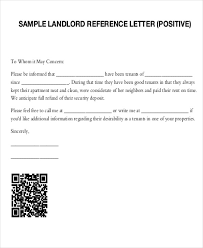 Letter Of Recommendation Tenant 5 Sample Tenant Recommendation Letter Free Sample Example