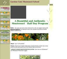 garden gate montessori peors revenue and employees owler pany profile