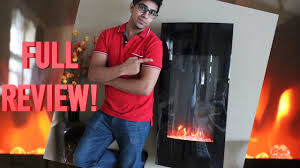unboxing review sky2950 vertical electric fireplace by best choice s