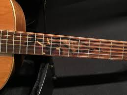 Fret Inlay Designs Hand Made Passive Acoustic Electric Guitar With Custom