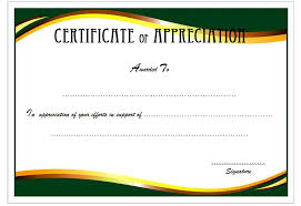 Certificate Of Appreciation Retirement Template Free 2