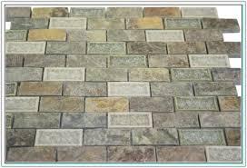 ceramic tile looks like brick