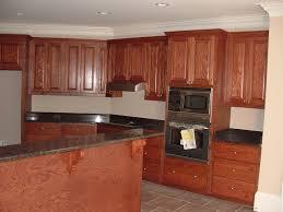 Kitchen Wooden Furniture Kitchen Countertop Options Oak Cabinet Elegant Black Marble