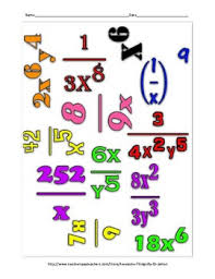 math laws laws of exponents math cloud freebie by funrithmetic tpt