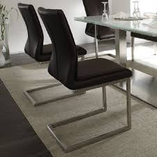 2 real leather dining room chairs sara real leather dining chair sara dining chair