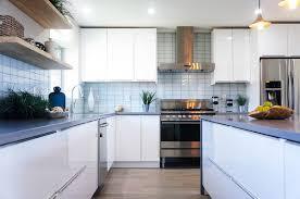White Gloss Flat Panel Rta Euro Style Best Online Cabinets
