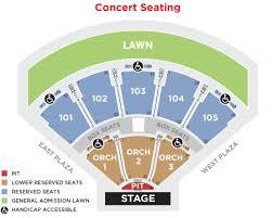 Verizon Amphitheater Seating Chart With Seat Numbers Verizon Amphitheater Seating Chart Unouda