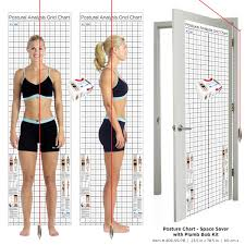 Space Saver Door Postural Assessment Grid Chart Kent Health Systems