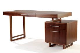 image of small desk with drawers and shelves