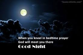 Good Night Prayer Quotes Beauteous Good Night Prayer Messages Goodnight Prayer SMS For Loved Ones