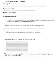 Science Hypothesis Worksheet Free Worksheets Library | Download ...