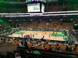 Td Bank Center Seating Chart Td Garden Section 139 Boston Celtics Rateyourseats Com