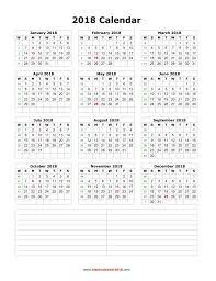 blank 2018 calendars blank 2018 calendar calendar template word
