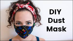 Cute Mouth Mask Designs Diy Dust Mask For Burning Man