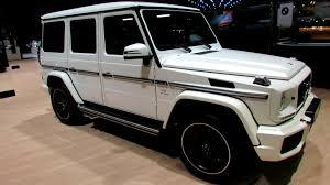 mercedes g wagon white interior. 2014 MercedesBenz GClass AMG Exterior And Interior Walkaround Geneva Motor Show YouTube Throughout Mercedes Wagon White