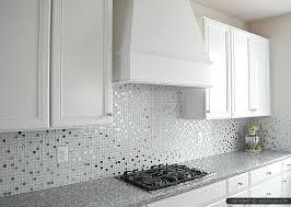 White Cabinet Kitchen Tile Ideas