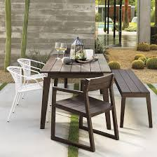cb2 outdoor furniture. Contemporary Cb2 Patio Furniture. View In Gallery Light Silver Dining Chairs Paired With Slatted Furnishings Outdoor Furniture S