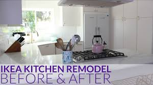Kitchen Remodel Los Angeles Ikea Kitchen Remodel Before After Los Angeles Ca Youtube