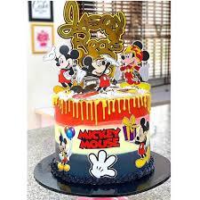 mickey mouse cake nectar