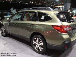 2018 subaru outback limited. simple 2018 2018 outack limited wilderness green color shown at the ny auto show 4 on subaru outback limited
