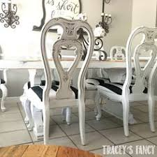 glazed dining room chairs