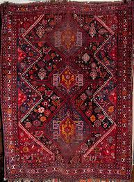 antique qashqai persian rug