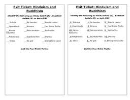 Compare And Contrast Hinduism And Buddhism Chart Hinduism And Buddhism Compare And Contrast Lesson